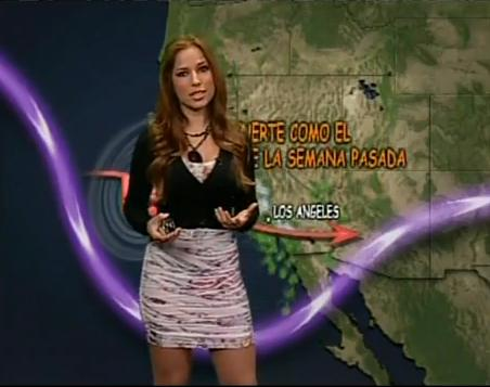 On the west coast, you rarely see weather girls bundled up in fleece jackets, but if you get too many jet streams like this one, it might be time to stop going commando.  (Image from the nayshun dot com)
