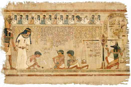 """You can't tell from this picture, but the original text of the third column was supposed to read, """"beetle, sun, lotus, beetle, zig-zag""""  I screwed it up, but there was no way to correct it, so the Pharaoh ended up having to enter the next world through the back door.  Man was he pissed."""