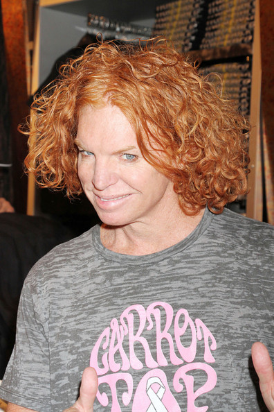 Carrot Top. You know he gives mad props. Photo from