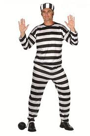 Don't jump to conclusions. No one is going to jail. This is just one of the fun Halloween costumes that crooked billionaires might consider wearing to the big bash in the British Virgin Islands later this year. (Image from cruiselawnews dot com)